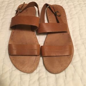 Frye leather sandals size 7.5